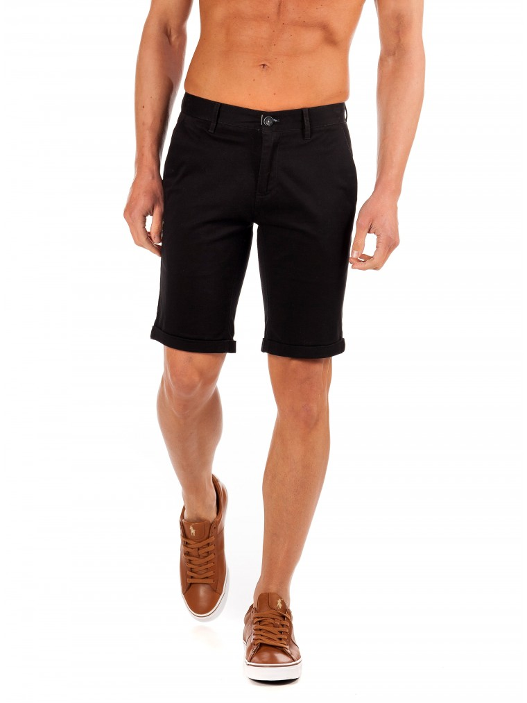 Gnious Shorts Nevada-Black