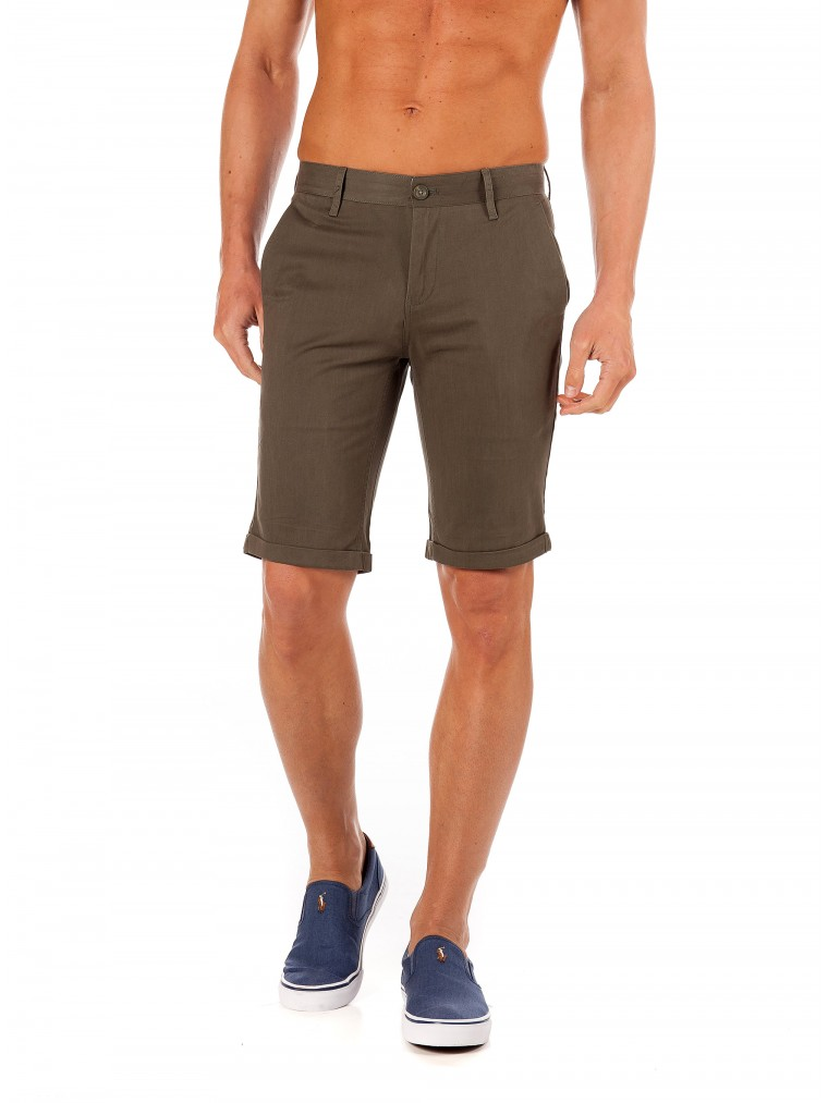 Gnious Shorts Nevada-Khaki
