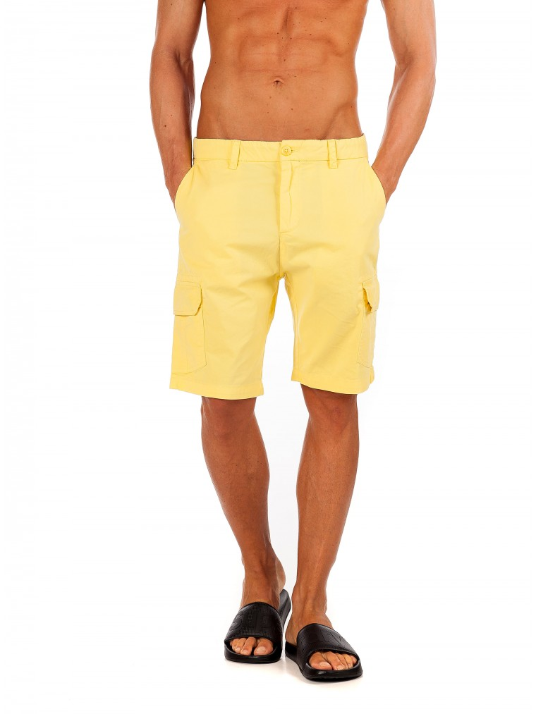 Gnius Shorts Beloro-Yellow