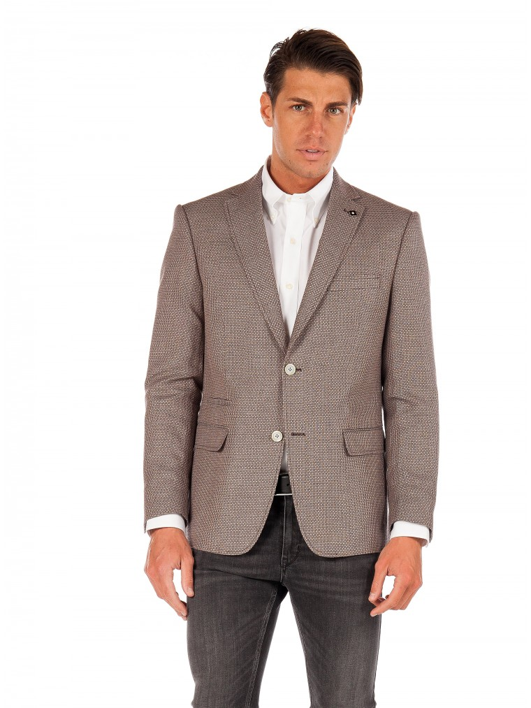 Common Sence By 7 Square Blazer Oscar-Brown
