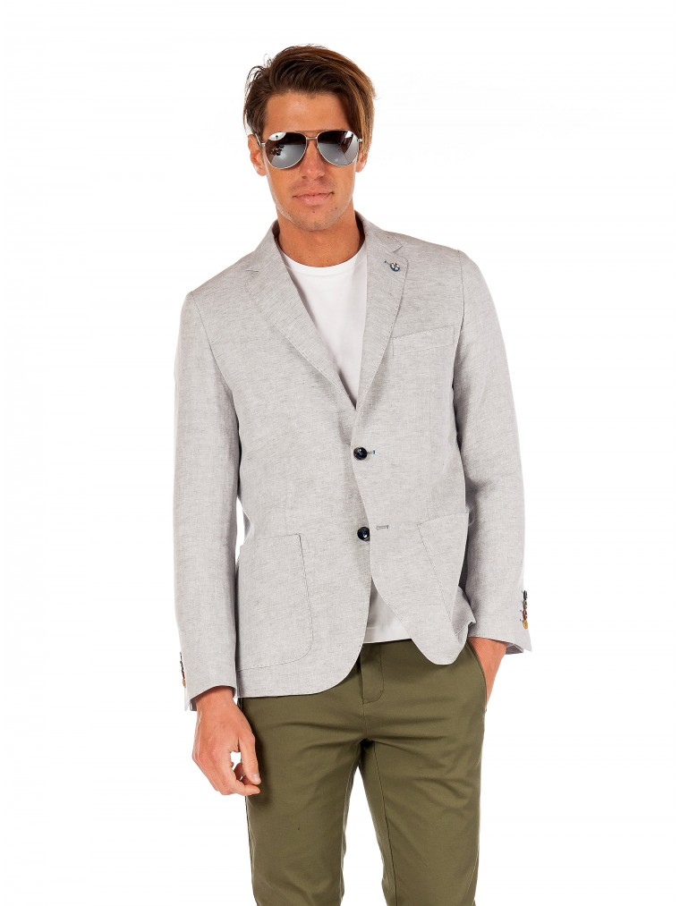 Alessandro Gilles Blazer-Light Grey