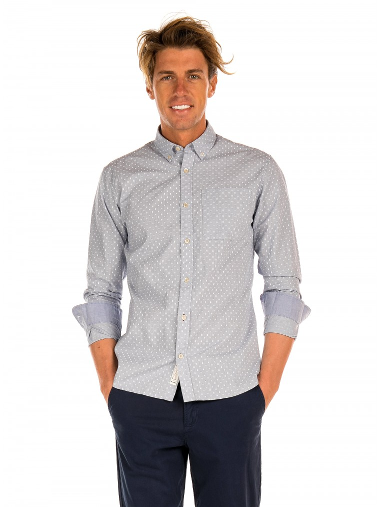 Premium By Jack & Jones Shirt Steve-Light Blue