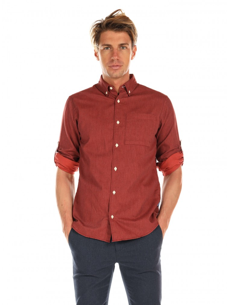 Jack & Jones Shirt Lunddahl-Brick Brown