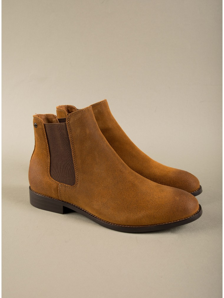 Jack & Jones Chelsea Boots-Rust Brown