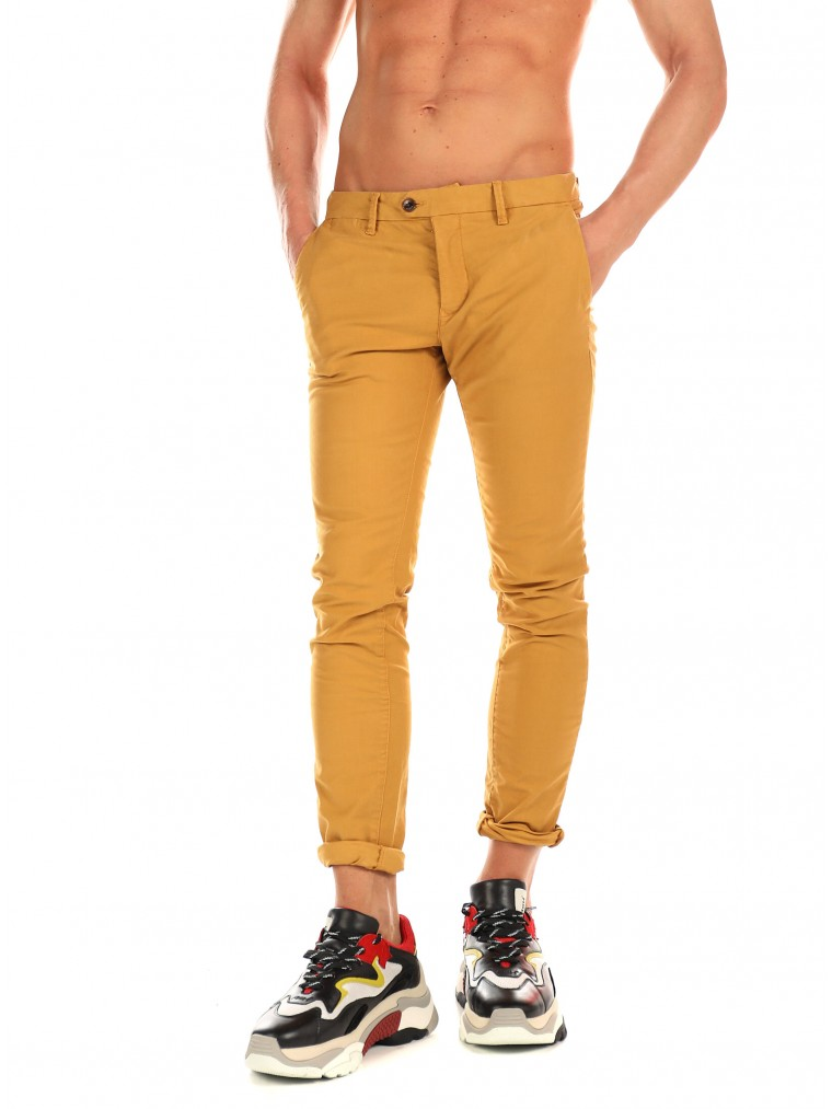 Scotch & Soda Pants Mott-Mustard