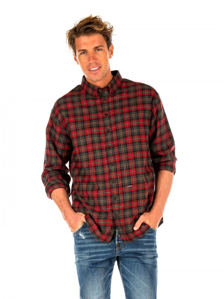 Dsquared Shirt-Red