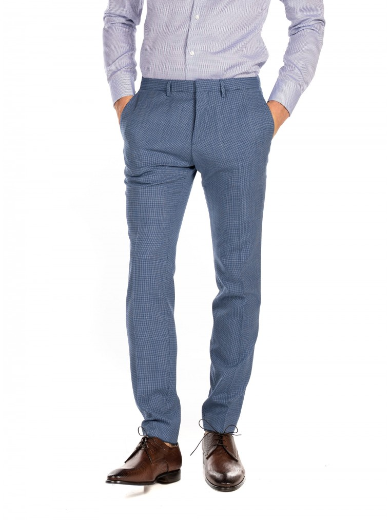 Boss Pants Wenten-Indian Blue