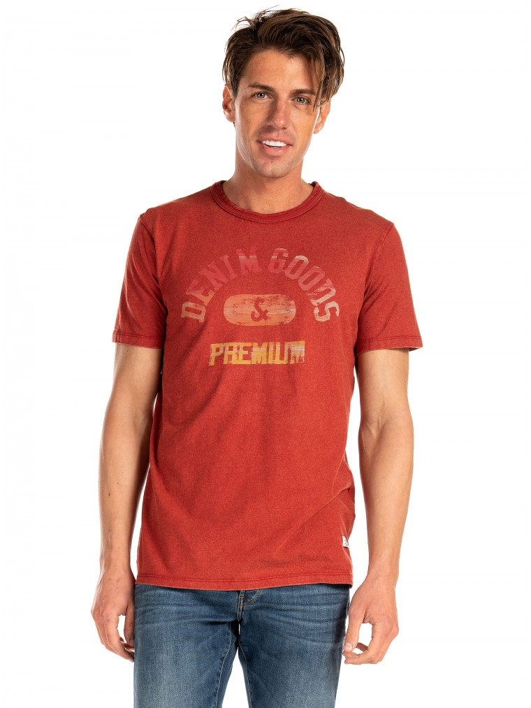 Premium by Jack & Jones T-Shirt Charles-Red