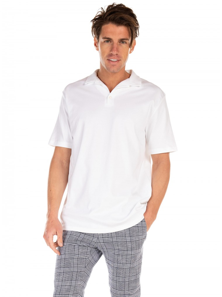 Selected Polo Shirt Florian-White