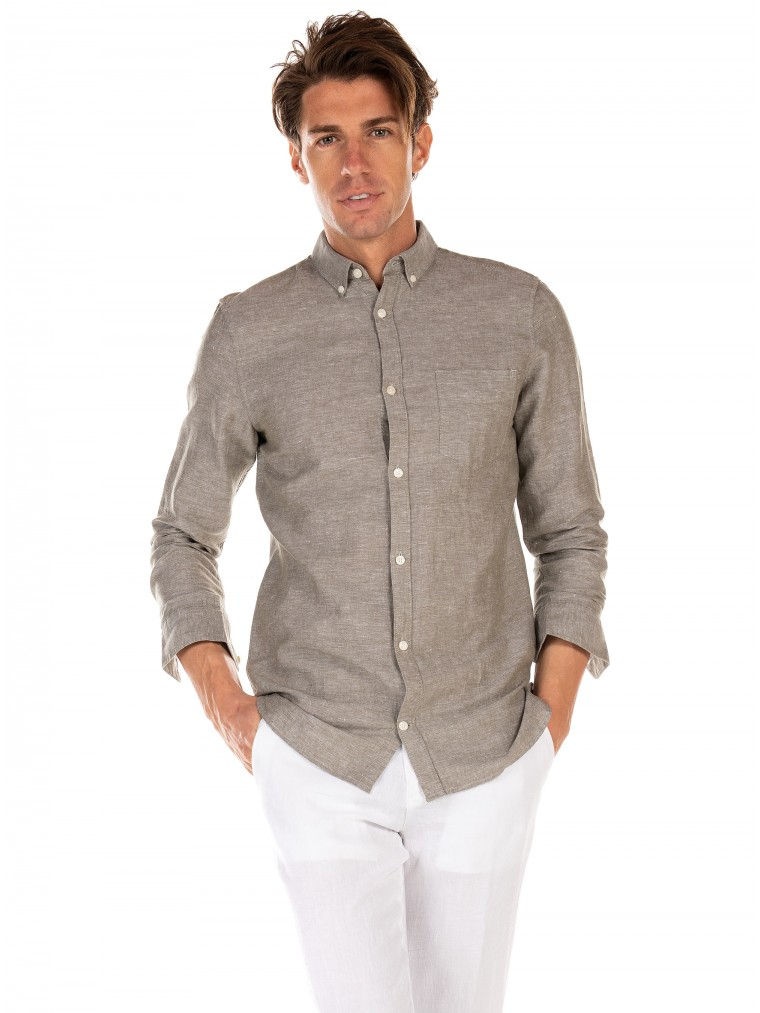 Gnious Shirt Linus-Olive