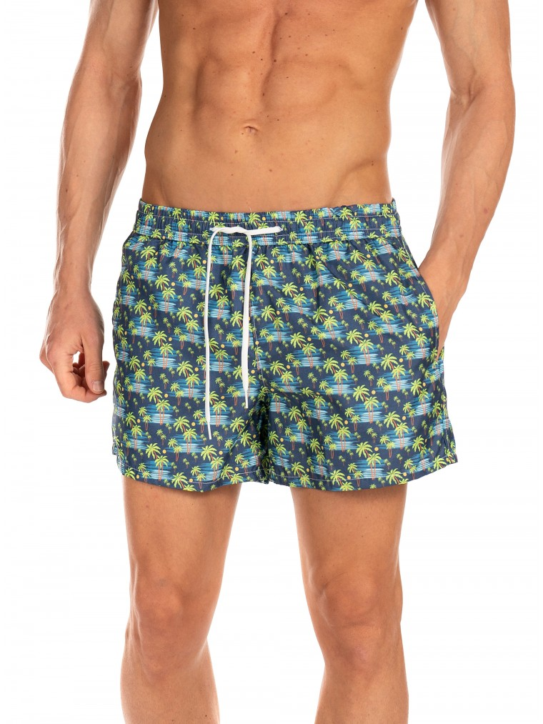 Paul MIRANTA Swim Shorts-Blue