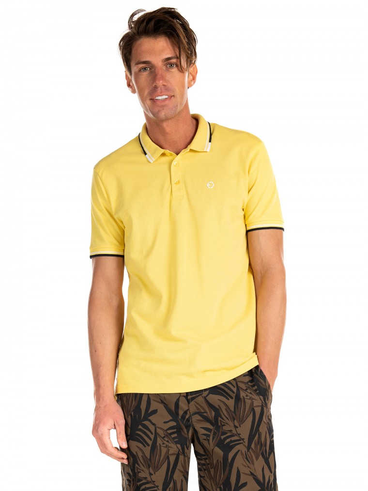 Tiffosi Polo Shirt Marley-Yellow