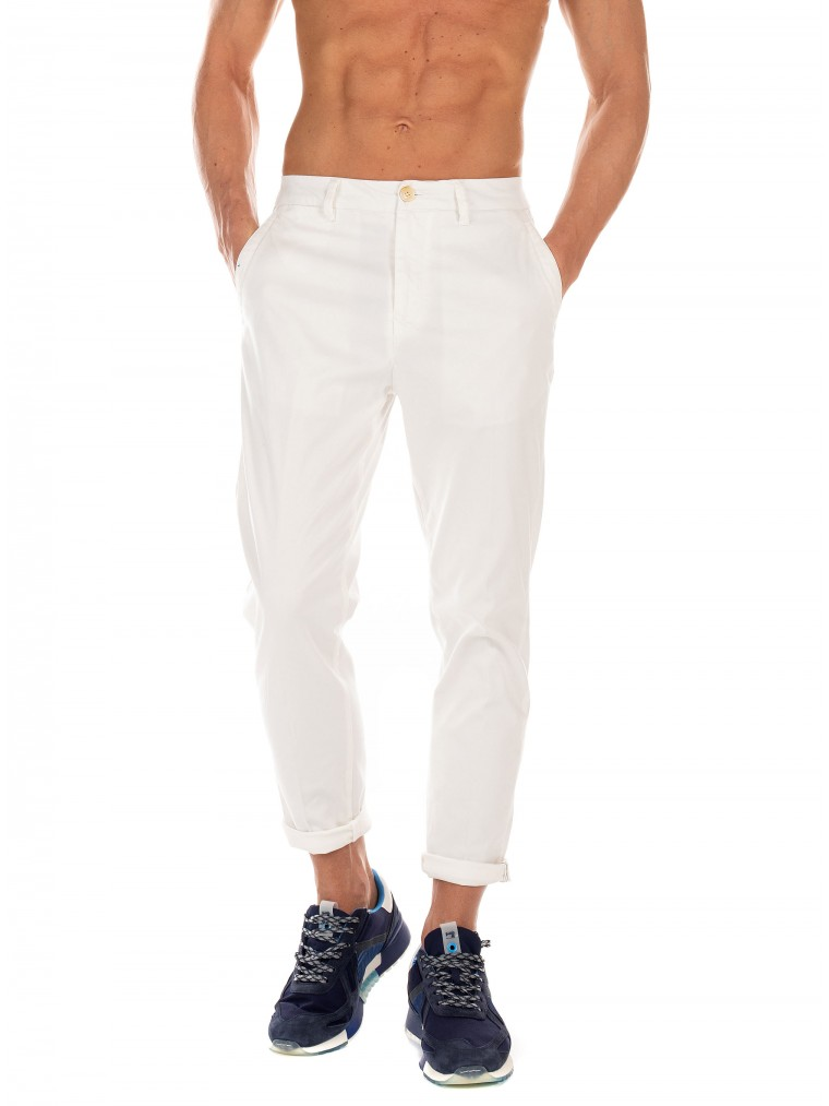 Scotch & Soda Pants Fave-White