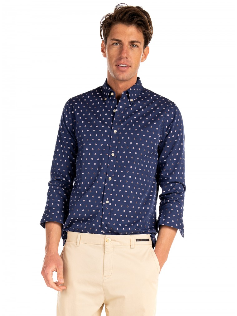 Scotch & Soda Shirt-Blue