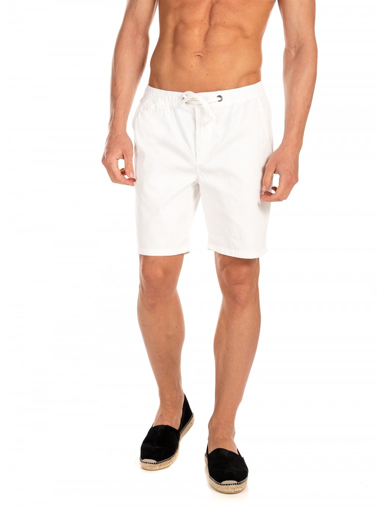 Superdry Sunscorched Chino Shorts-White