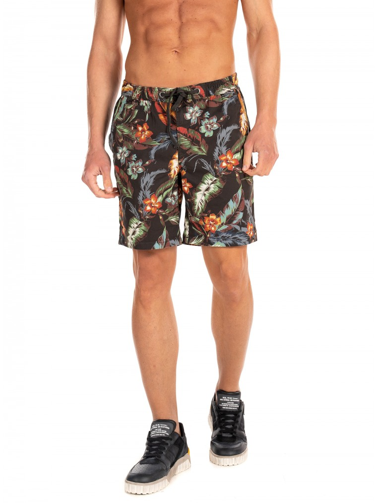 Superdry Sunscorched Chino Shorts-Dark Grey