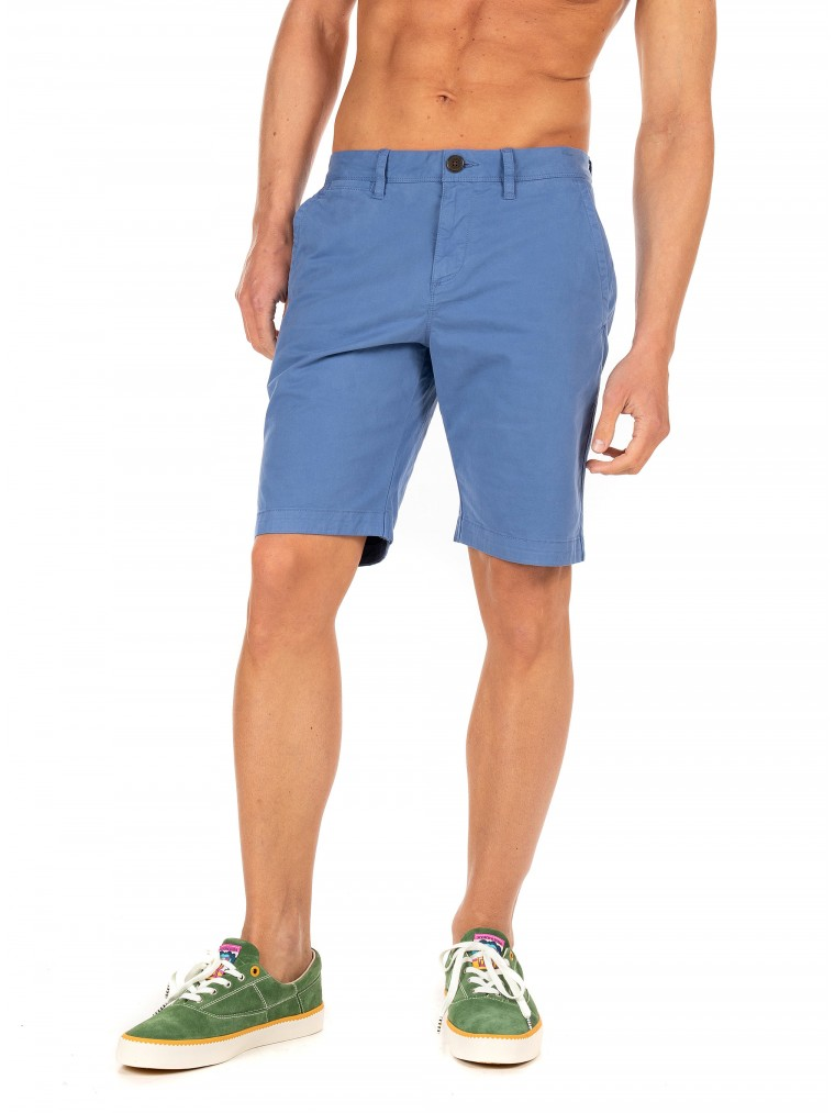 Superdry International Chino Shorts-Light Blue