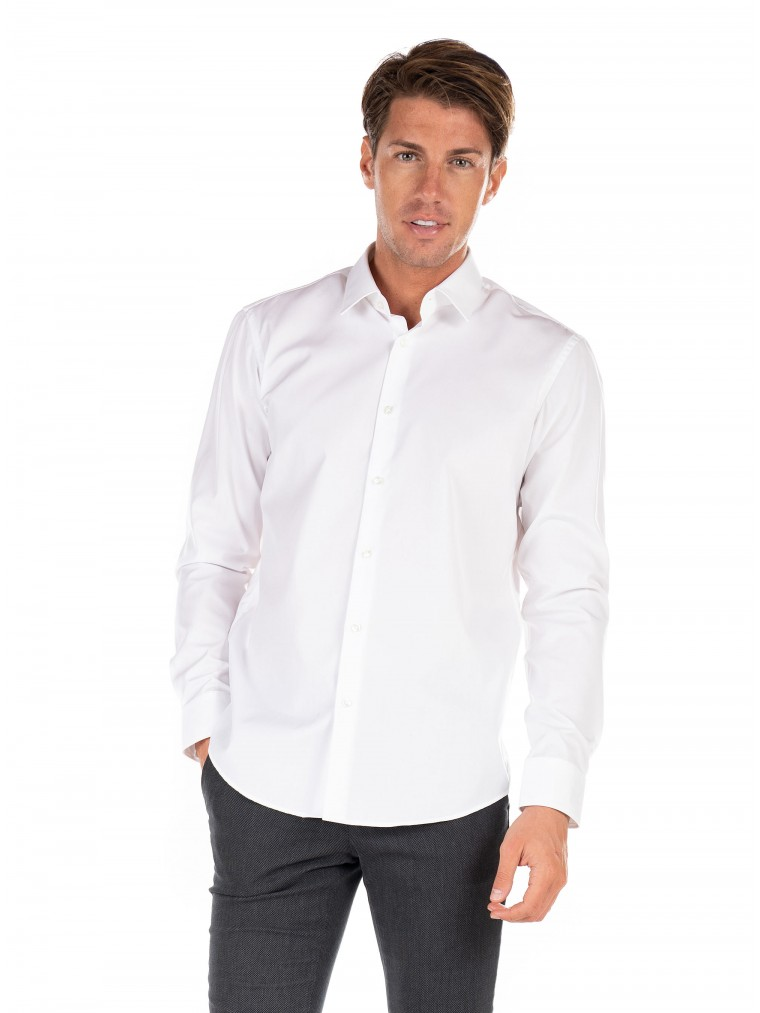 Boss Shirt Eliot-White