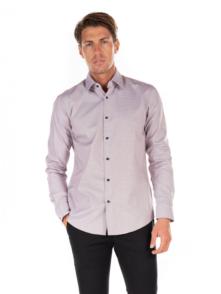 Boss Shirt Ganos-Brown
