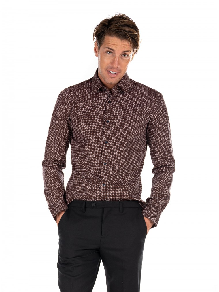 Boss Shirt Isko-Brown