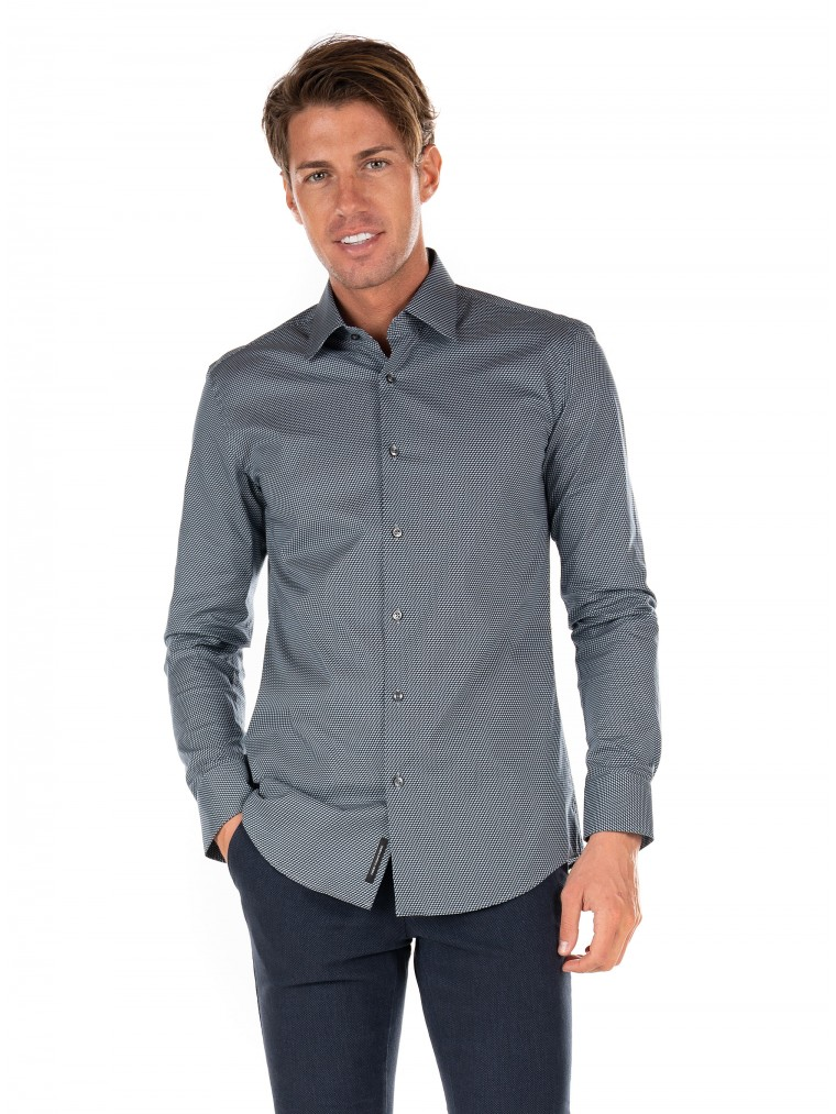 Boss Shirt Jango-Grey
