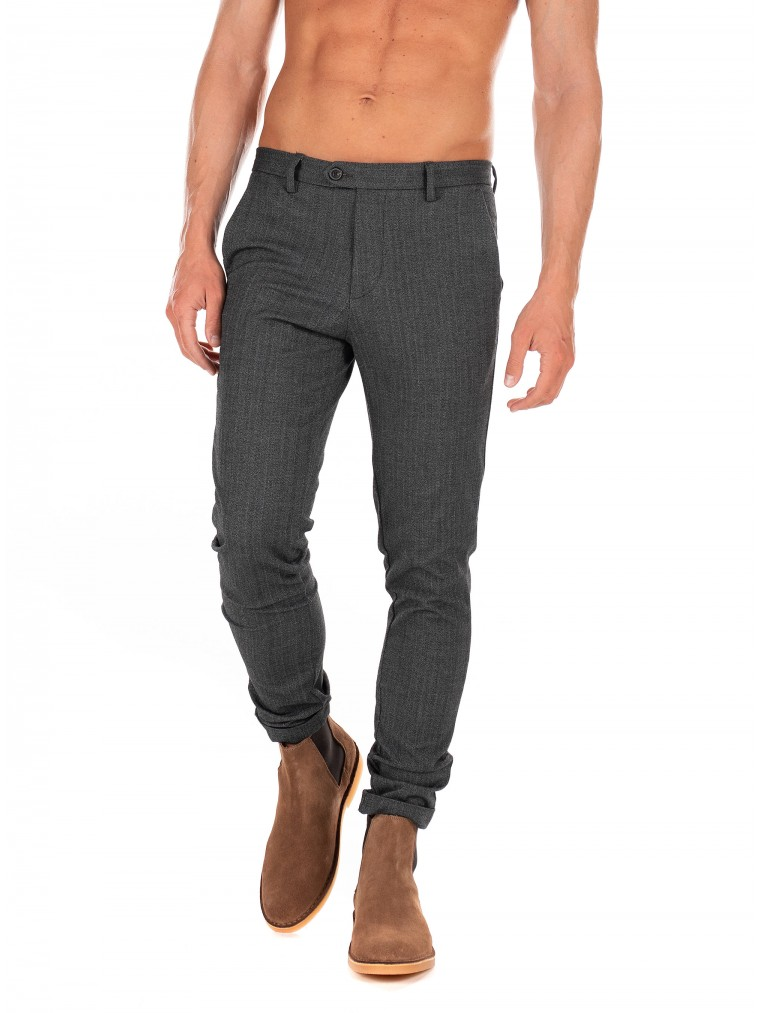Jack & Jones Pants Marco Connor AKM 769-Grey