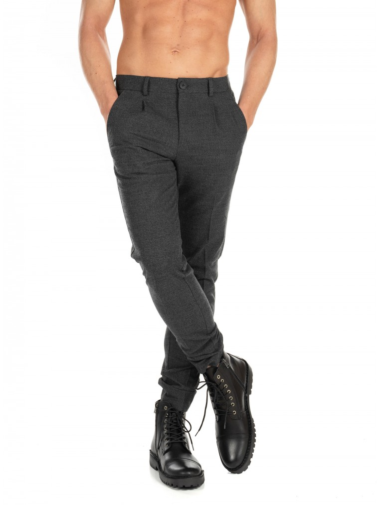 Jack & Jones Pants Marco Sean-Grey