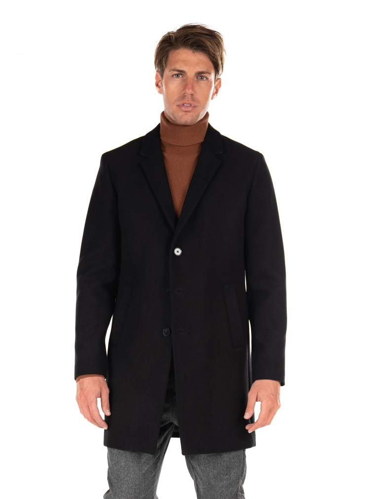 Jack & Jones Coat Moulder-Black