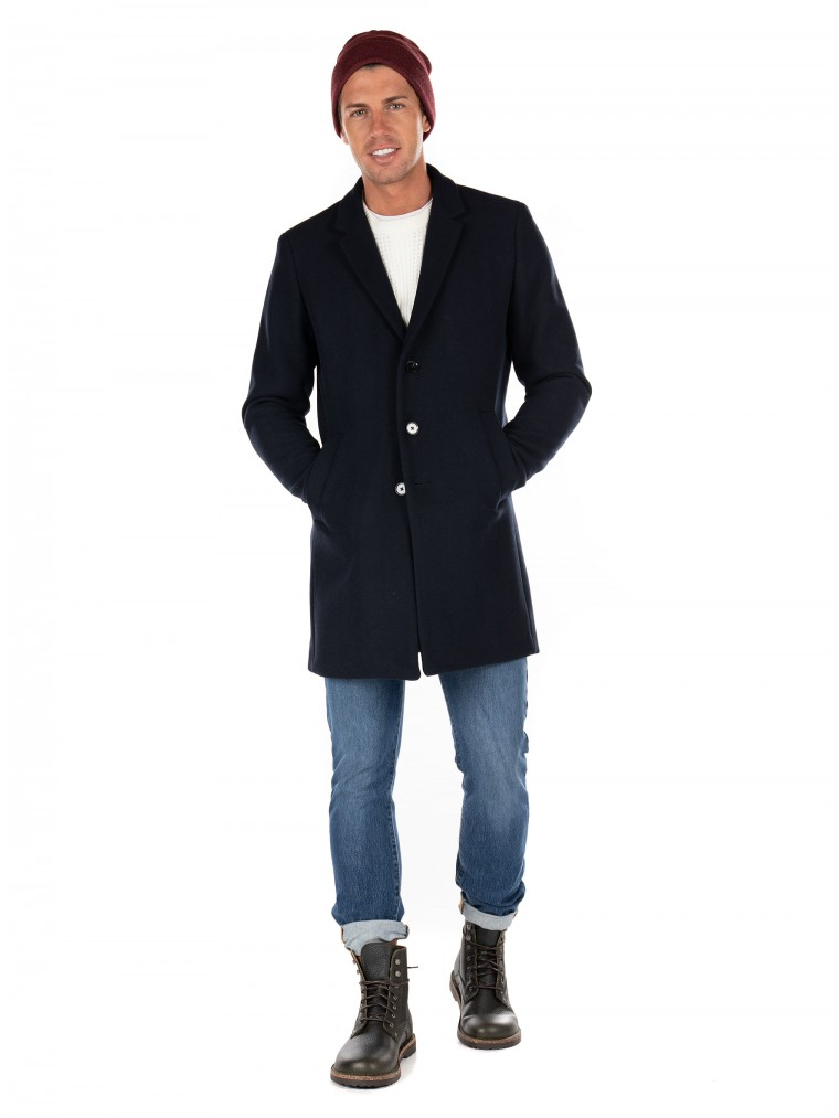 Jack & Jones Coat Moulder-Blue