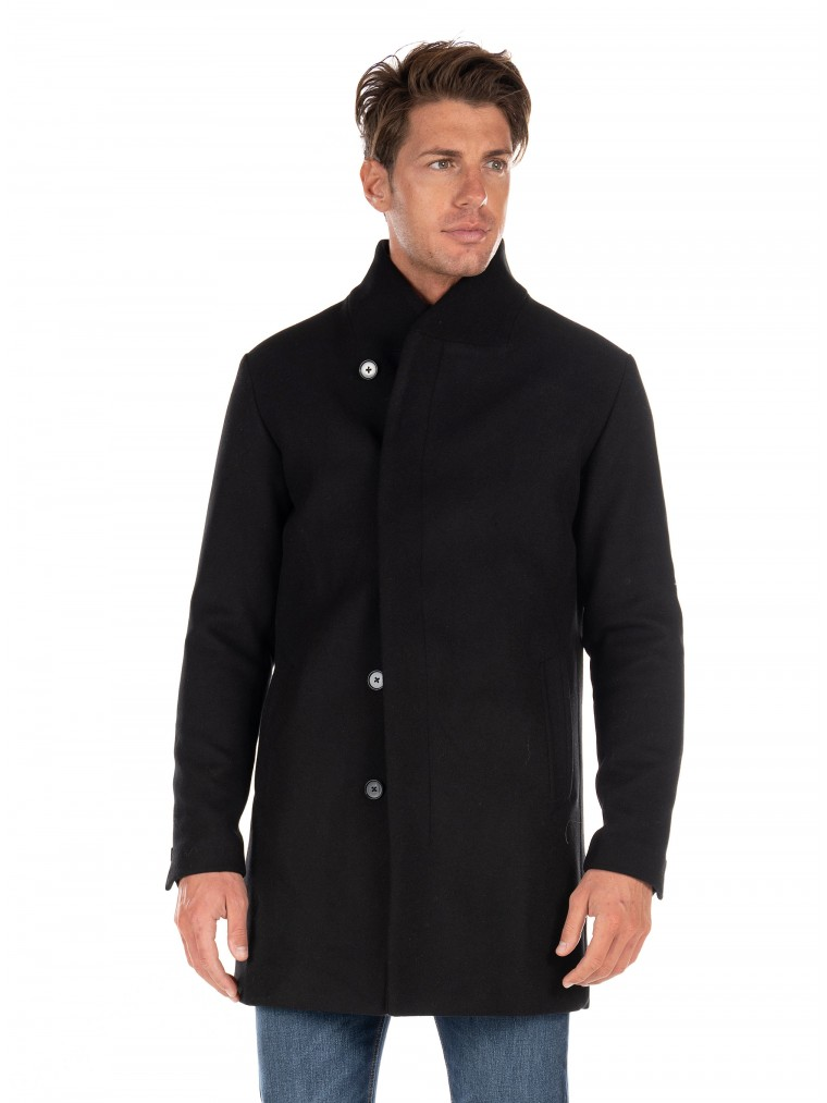 Jack & Jones Coat Collum-Black