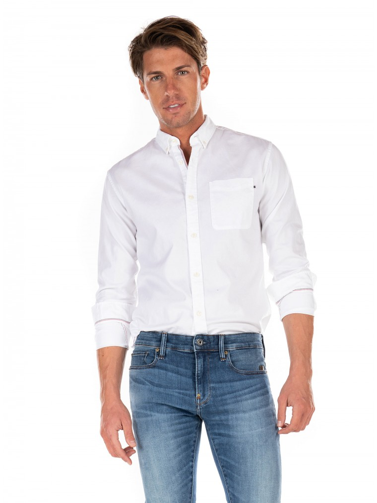 Jack & Jones Classic Oxford Shirt-White