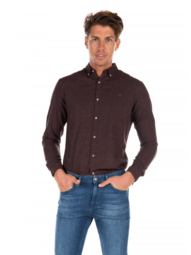Jack & Jones Shirt Logo-Bordeaux