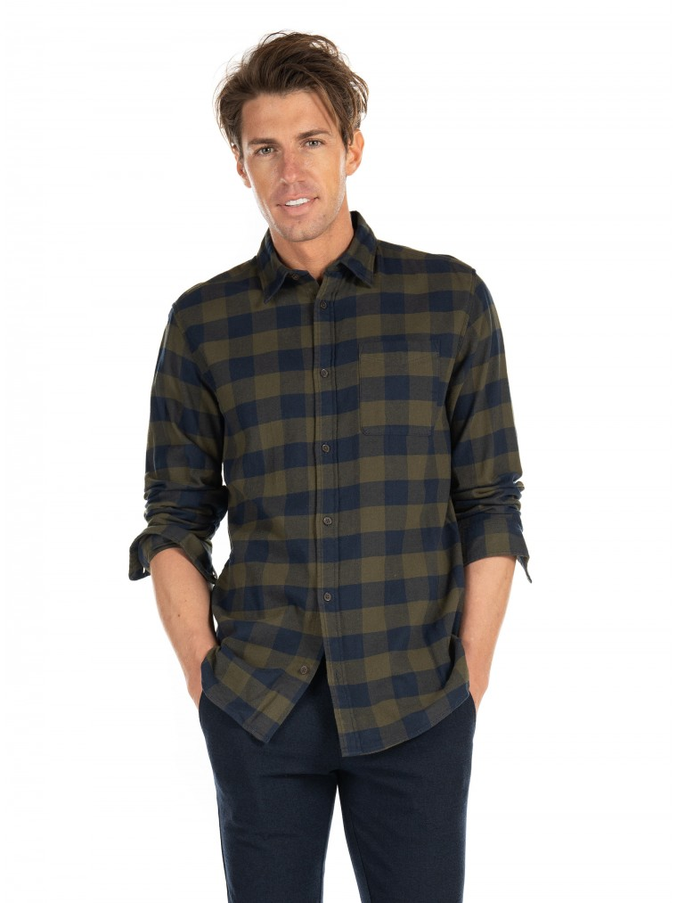 Jack & Jones Shirt Chester-Dark Green