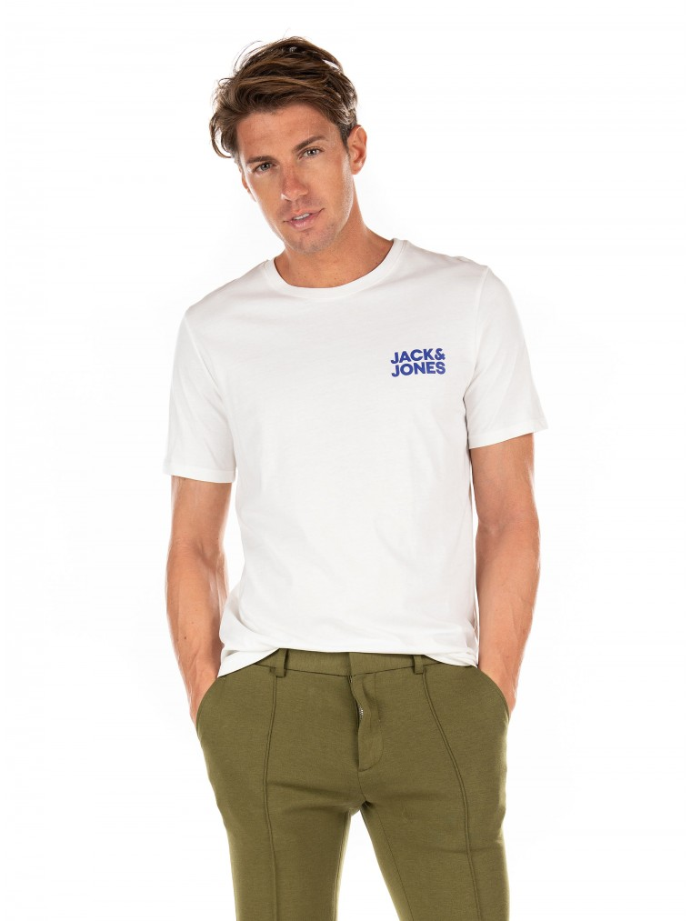 Jack & Jones T-Shirt Crop Logo-White