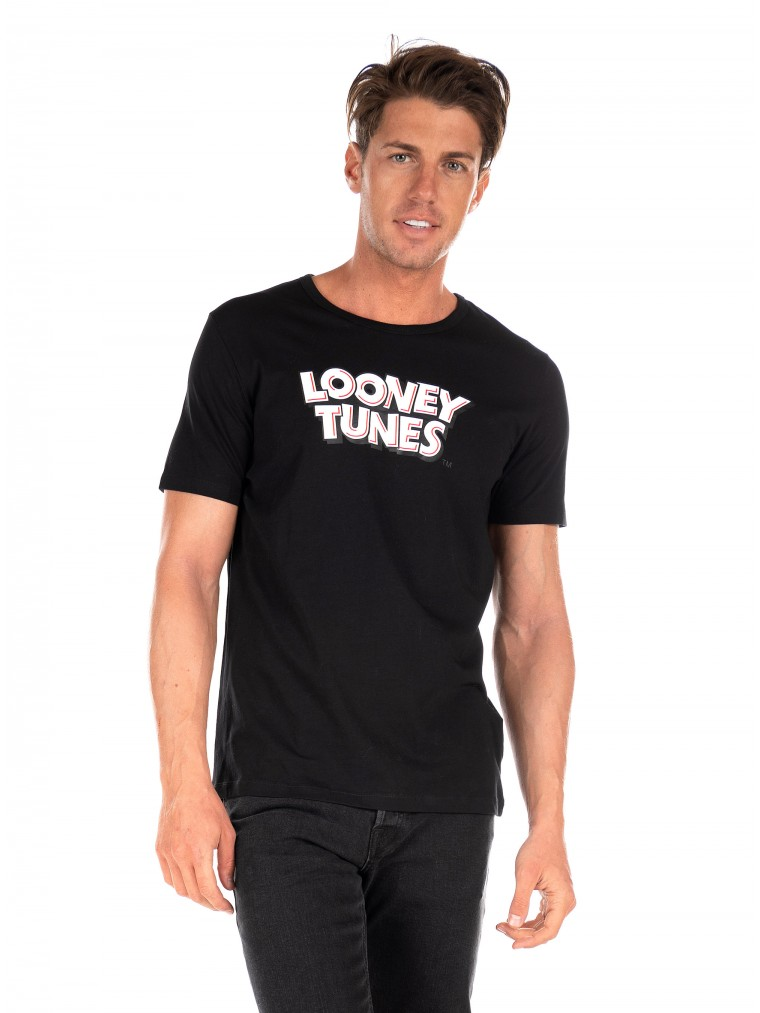 Jack & Jones T-Shirt Looney-Black
