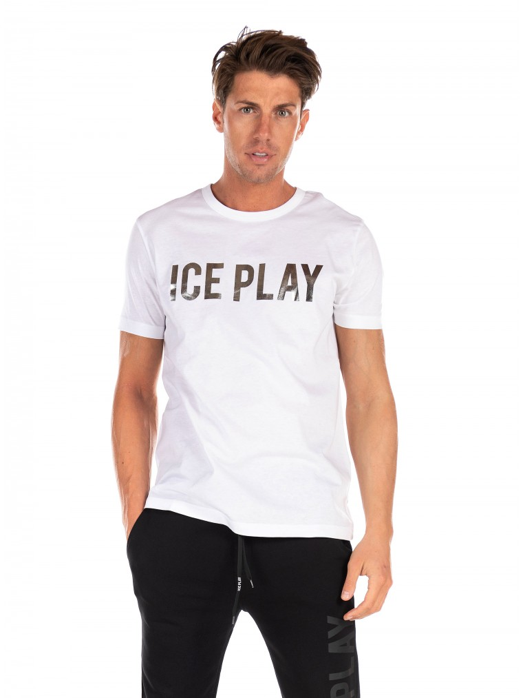 Ice Play T-Shirt-White