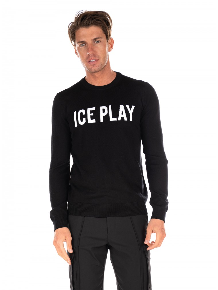Ice Play Knit-Black