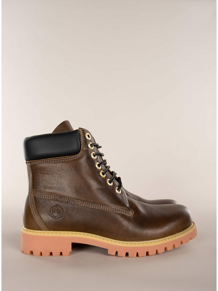 Lumberjack Ankle Boots Ethan-Dark Olive Green