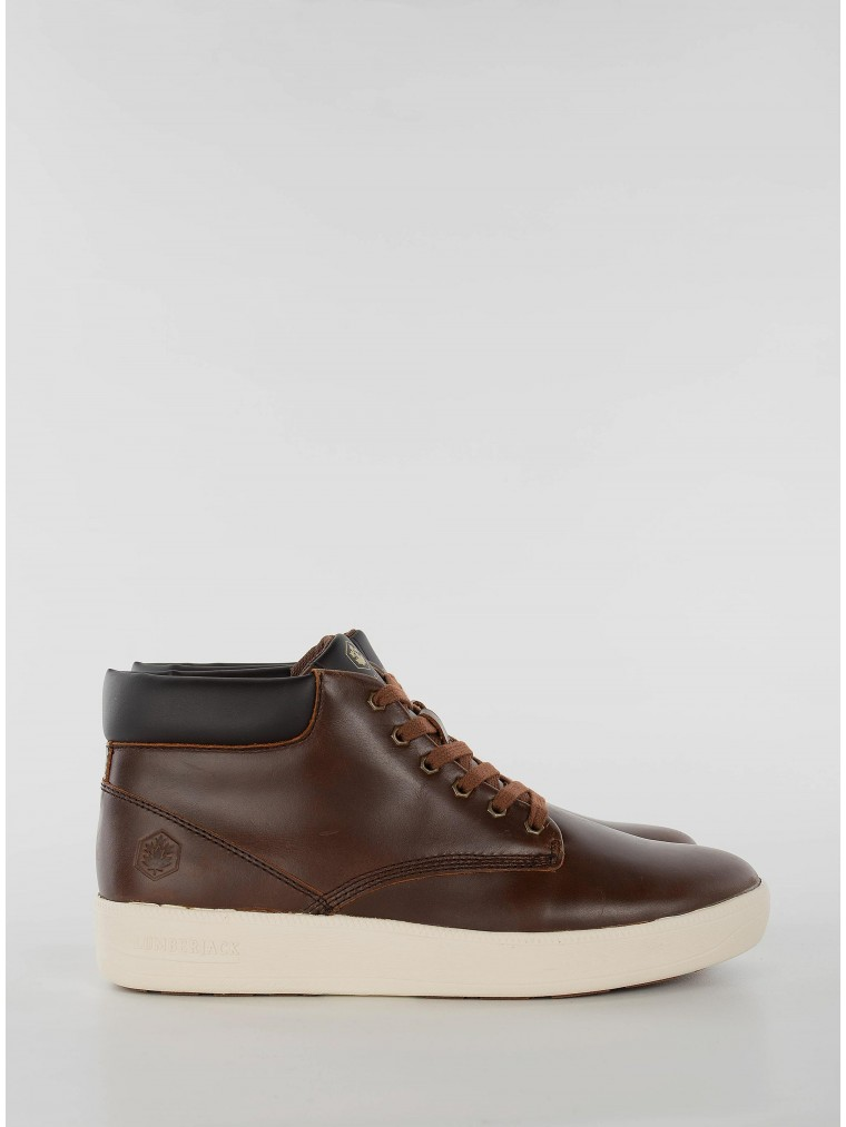 Lumberjack Ankle Boots Winter Chuck-Brown