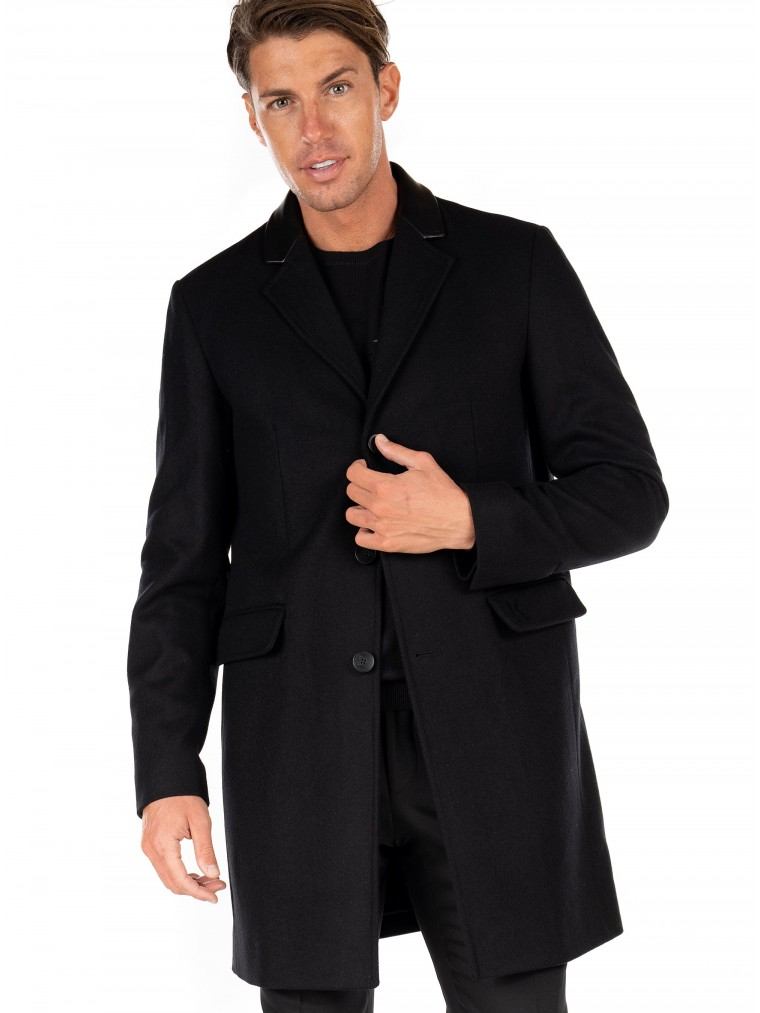Karl Lagerfeld Coat-Black