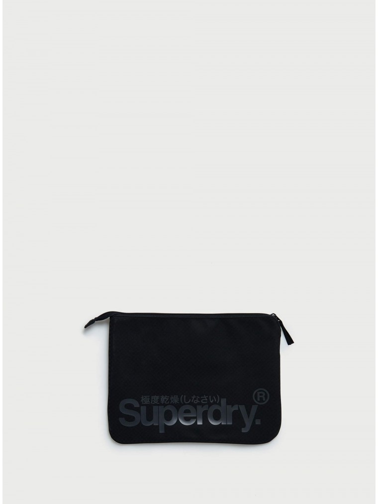 Superdry Combray Tarp Tablet Sleeve-Black