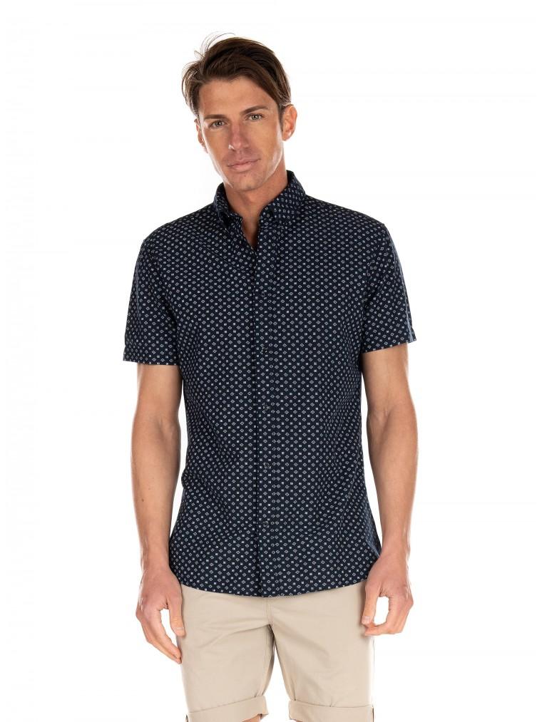 Selected Shirt Hart-Blue