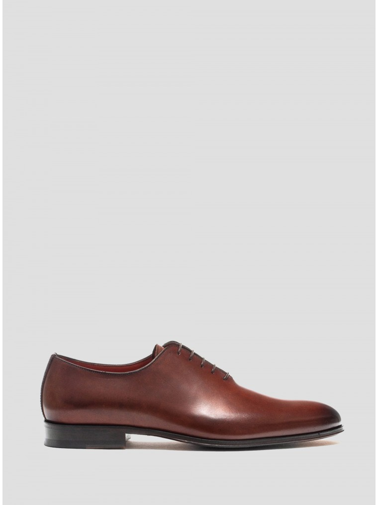 Per La Moda Shoes-Rust Brown