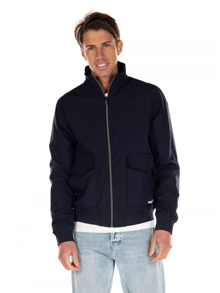 Scotch & Soda Bomber Jacket-Blue