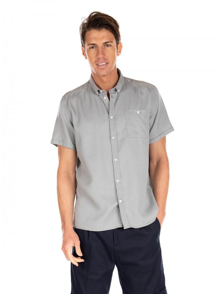 Le Deux Shirt Leonardo-Light Grey