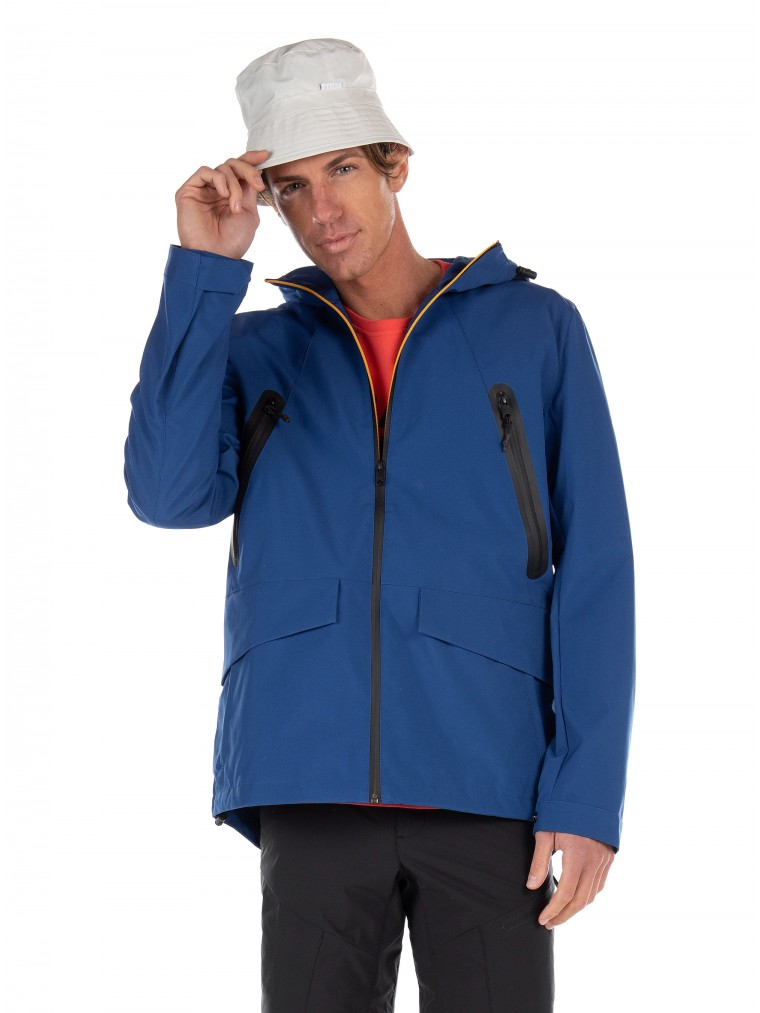 Ecoalf Jacket Rotterdam-Royal Blue