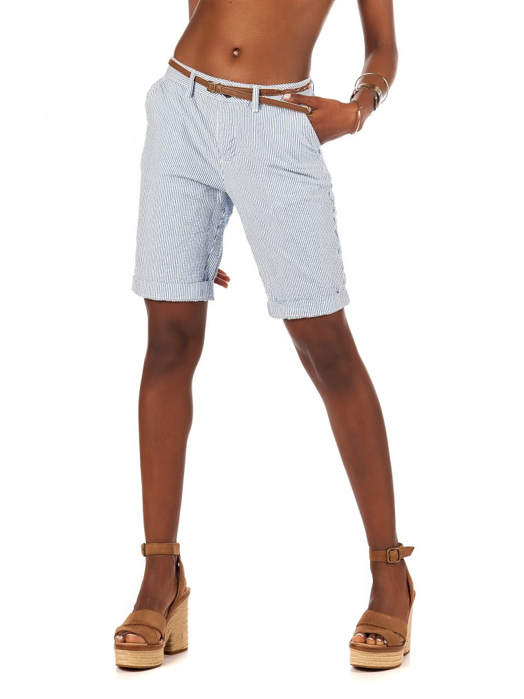 Superdry Chino City Shorts-Blue