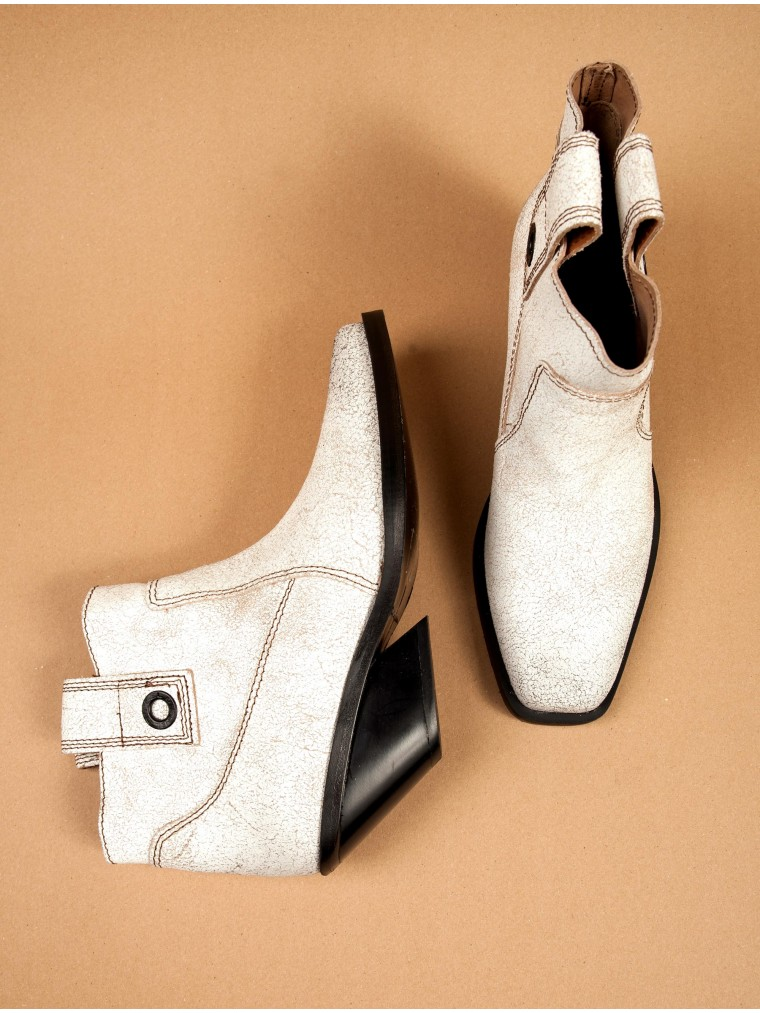 Diesel Ankle Boots D-Giudecca Mab-White