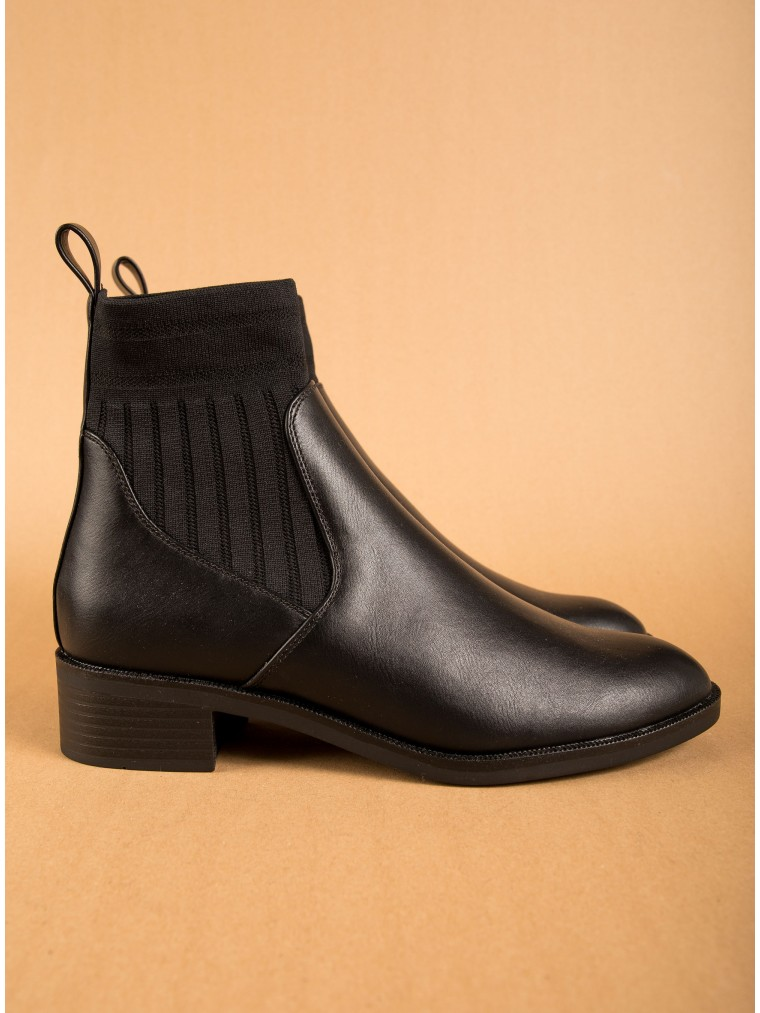 Only Tube Pu Ankle Boots Bright