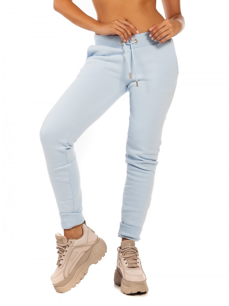 Superdry Applique Jogger-Light Blue